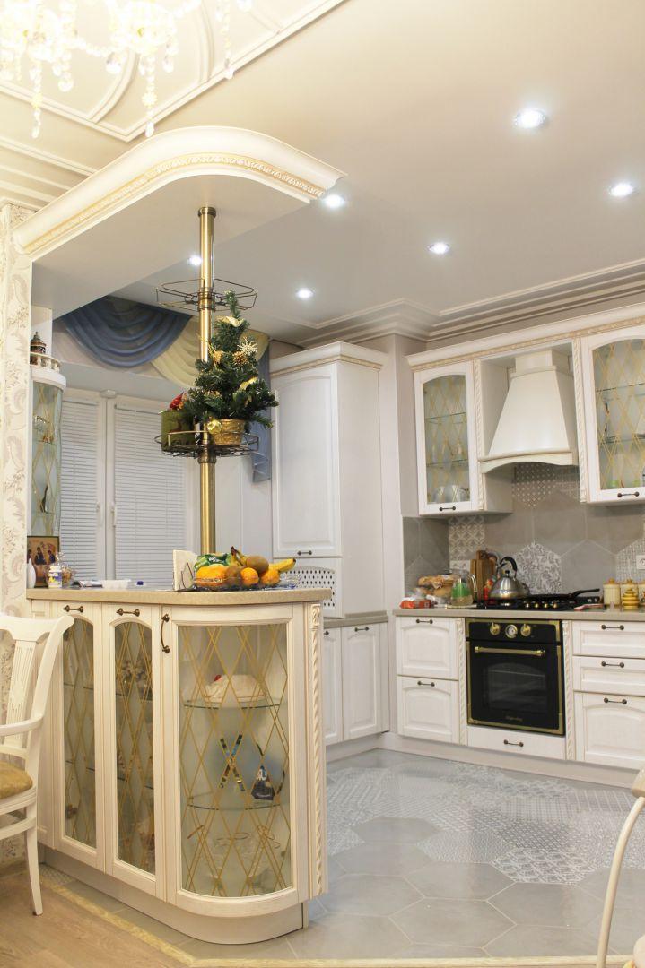 Дизайн интерьера. Калуга. Фото реализации. Кухня