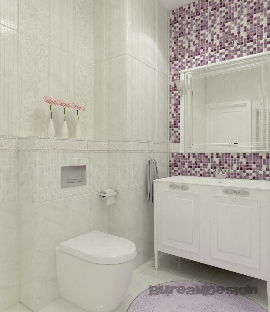 Дизайн интерьера. Калуга. Ванная - вид 2